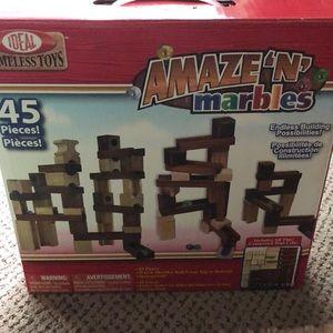 Wood & Marble Maze Set